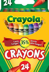 Construction Paper Crayons Wax 16//Pk