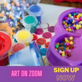 art on zoom promo
